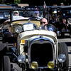 Bob Beers drives his 1929 Model A down Main Street during the Louisville Labor Day Parade in Louisville, Colorado September 5, 2011.   CAMERA/Mark Leffingwell
