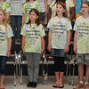 The Norman Childens Chorus is preparing for it's 20th anniversary program. Rehearsing are (left to right) Cheyenne Byers, MacKenzie Milchesky, Ashlynn Cutter and Chloe Dunham. Photo by Jerry Laizure