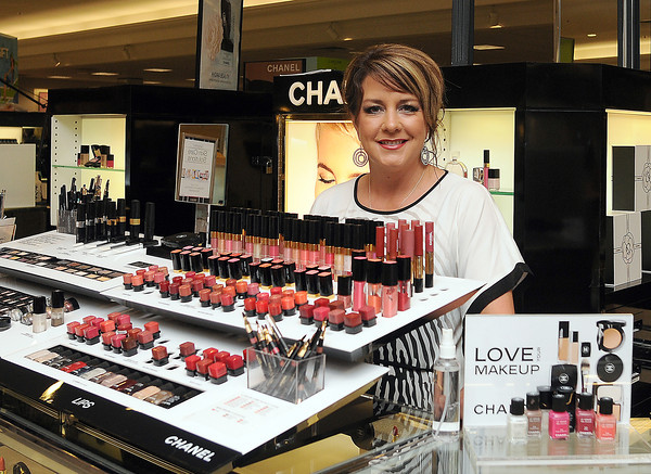Heather Long  works in the fragrance department at Dillard's. Dillard's is one of several stores participating in the Sooner Mall Shop Mothers' Day at the Mall.