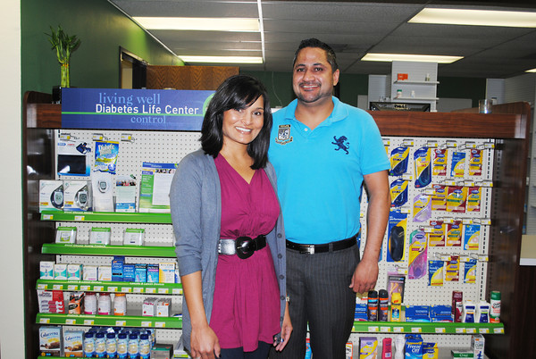 Dave's Health Mart Pharmacy at 329 N. Porter is locally owned and operated by Kruticka and David Patel. Transcript Photo by Joy Hampton