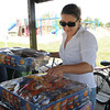 Amy Radford, director of food services at Food and Shelter for Friends, prepares a picnic lunch in Andrews Park for the shelter clients Thursday, May 3, 2012. The shelter dining facility is being renovated thanks to a grant from the Sarkey's Foundation. While the renovation is going on, the clients are being fed at the Norman Community Church of the Nazarene on north Porter Ave. Food has been provided by the First Baptist Church, St. Thomas More Catholic Curch, Memorial Presbyterian Church and Goodrich Memorial United Methodist Church. Food and Shelter will start serving in its own dining hall Monday. Photo by Jerry Laizure
