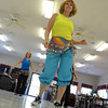 "Maria Grey leads the YMCA dance group the  ""Zingers"" in a dance as they perform for the residents at the Cedar Creek Nursing Center Friday afternoon.  The is the group's second performance and they are hoping to expand their show to other assisted living centers in the future.<br /> Kyle Phillips/The Transcript"