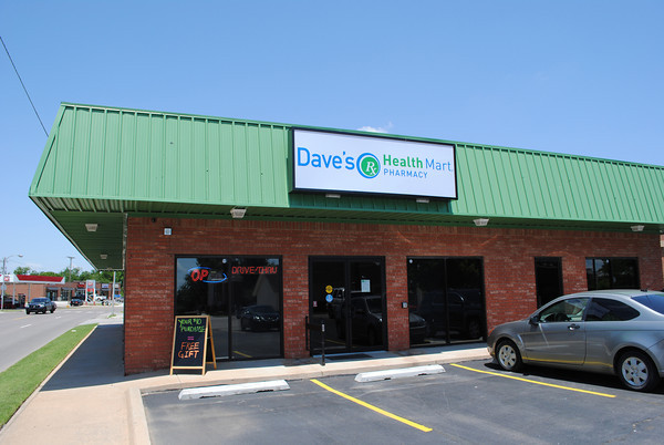 Dave's Health Mart Pharmacy at 329 N. Porter is locally owned and operated. Transcript Photo by Joy Hampton