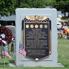 This patriotic display was part of the Memorial Day service, Monday, May 28, 2012, at Sunset Cemetery. Jerry Laizure/The Transcript