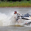 A man rides his ppersonal watercraft at Lake Thunderbird this Memorial Day, Monday, May 28, 2012. Jerry Laizure/The Transcript