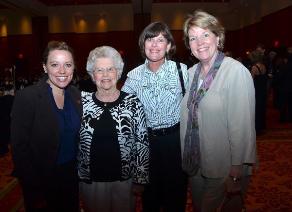 Autumn McMahon, Edith Howardon, Ann Kempa and joyce Brandes