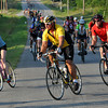 Riders attend the 17th annual Norman Conquest on Saturday morning, riders can atempt three routes 22 miles, 46 miles or 64 miles. Julie Bragg/ The Transcript
