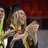 Norman High School seniors graduated Friday, May 25, at Lloyd Noble Center. Transcript photo by Kyle Phillips