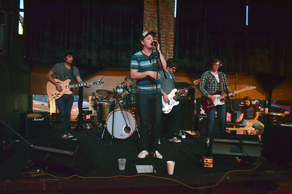 The band Scott Fleenor plays a show at the Brewhouse Friday night during the second day of the Norman Music Festival.<br /> Transcript Photo by Kyle Phillips