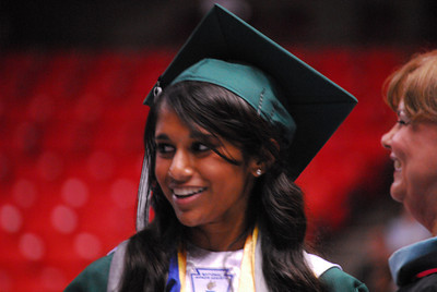 Norman North High School seniors graduated Thursday, May 24, at Lloyd Noble Center. Transcript photo by Kyle Phillips
