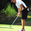 OSU's Talor Gooch putts his ball on the 8th green Thursday during the OGA tournament at Jimmie Austin Golf club. <br /> Kyle Phillips/The Transcript