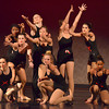 Dancers perform their routine Saturday during the Oklahoma High School Dance Festival at the Nancy O'Brian Center for Performing Arts.<br /> Kyle Phillips/The Transcript