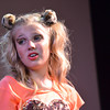 "Addison Baker rehearses for the Sooner Theatre's presentation of "" Piggy Nation.<br /> Transcript Photo by Kyle Phillips"