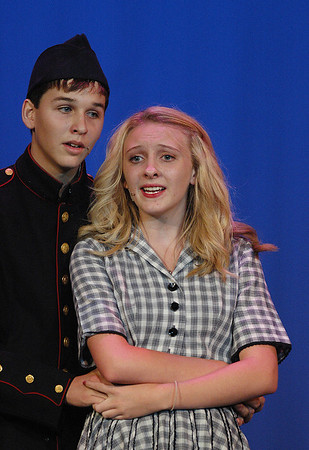 All Shook Up dress rehearsal at Sooner Theatre Tuesday, July 19, 2011.  (Transcript photo by Jerry Laizure)