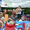 The band  Alegria Real plays a show  Sunday evening at the first concert of the Summer Breeze Concert Series at Lions Park.<br /> Kyle Phillips/The Transcript