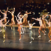 "Dancers from the Oklahoma Festival Ballet  perform in Joseph Hayden's ""The Creation"" Sunday at Sharp Concert Hall of Catlett Music Center.<br /> Transcript photo by Kyle Phillips"