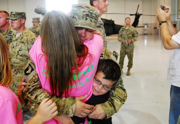 National Guard Return