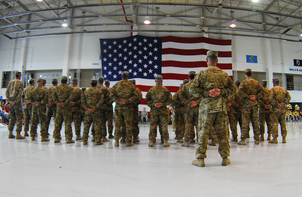 Nat Guard Return Home