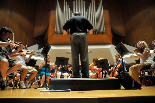 Philharmonic Rehearsal
