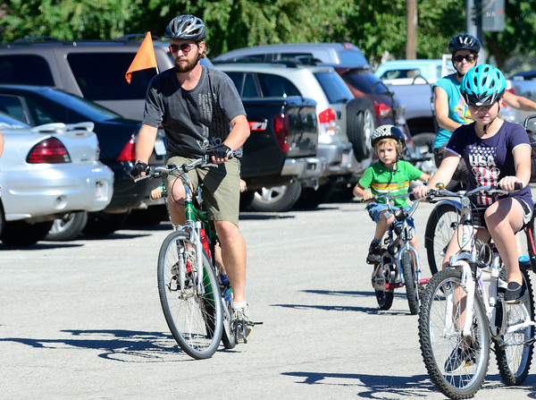 Reagan Bike ride