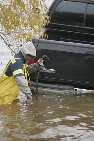 Truck in lake 3