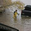 Truck in lake 1