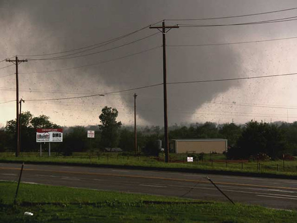 Raw video of the tornado that hit Moore. Kyle Phillips/The Norman Transcript
