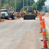Road closes for contruction