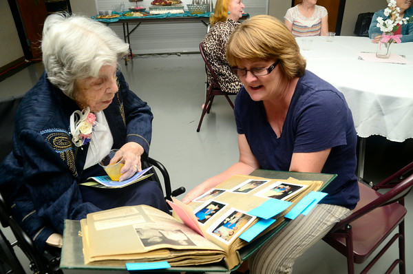 Edith Bray celebrates 100 years