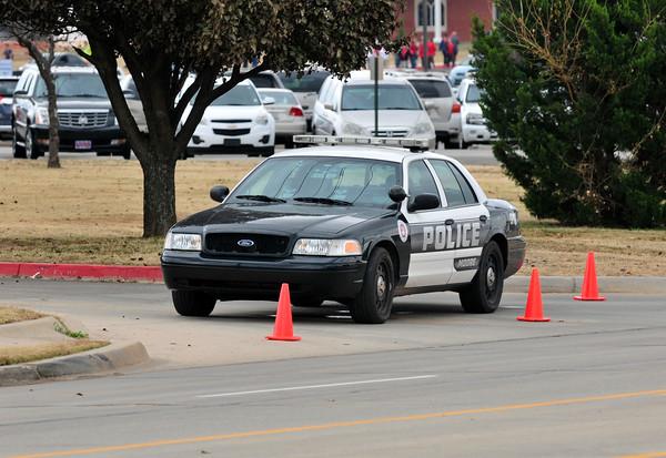 Moore High evacuated