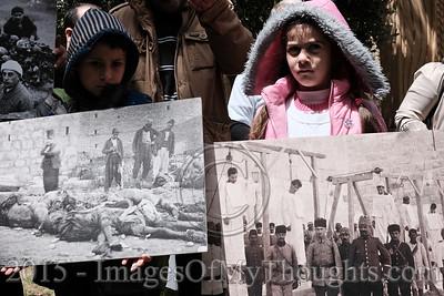 100th Anniversary of Armenian Genocide - Israel