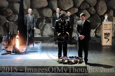 U.S. Defense Secretary Visits Israel