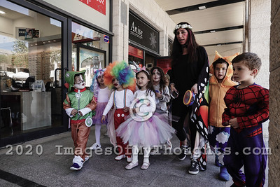 Purim 2019 in Jerusalem, Israel