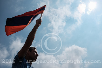 Armenians Protest Arms Supply to Azerbaijan in Jerusalem, Israel