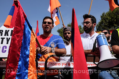 Armenian Genocide Commemoration in Jerusalem, Israel