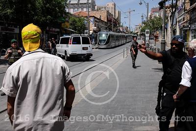 Bomb Scare in Jerusalem, Israel