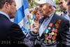 Victory in Europe Day Commemorated in Jerusalem, Israel