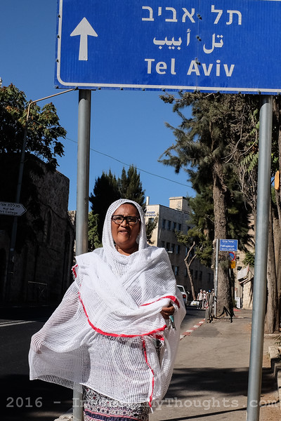 African Communities in Jerusalem, Israel