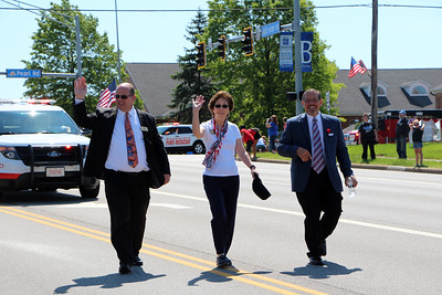 HALEE HEIRONIMUS / GAZETTE Brunswick held its annual Memorial Day parade Monday afternoon.