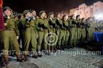 IDF Mixed Gender Swearing In Ceremony in Jerusalem, Israel