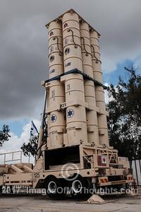 David's Sling Launch at Hatzor, Israel