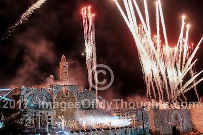 Jerusalem Unification 50th Jubilee Celebrations in Jerusalem, Israel