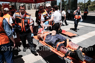 Knesset Drills Earthquake Response in Jerusalem, Israel