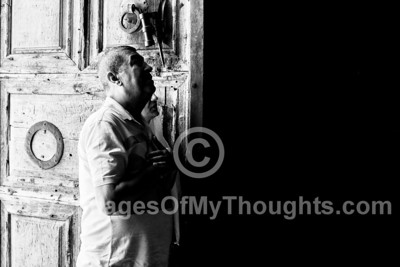 Faith at the Holy Sepulchre in Jerusalem, Israel