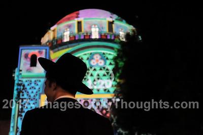 Light Festival 2017 in Jerusalem, Israel