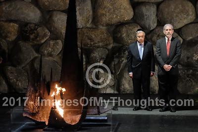 UN's Guterres Visits Israel