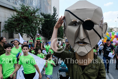 Jerusalem Parade 2017 in Jerusalem, Israel