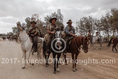 Battle of Beersheba Centenary in Beersheba, Israel
