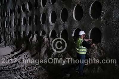 Underground Cemetery in Jerusalem, Israel