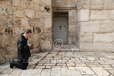 Holy Sepulchre Church Closed in Protest in Jerusalem, Israel